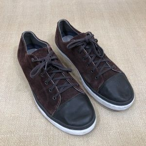 Cole Haan Mens Grand OS Size 11 Suede Sneakers